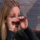 kaley cuoco cries